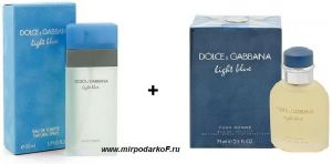 "Dolce&Gabbana ""Light Blue"" + ""Light Blue Pour Homme"""